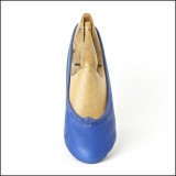 duchess pump royal blue (junior) by Scottish Dance Shoes