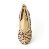duchess pump leopard (junior) by Scottish Dance Shoes