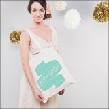 maid of honour - mint by Alphabet Wedding Bags