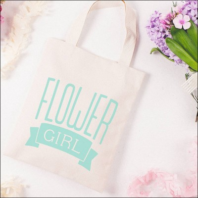 flower girl - mint image 1