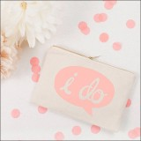 i do pouch - pink by Alphabet Wedding Bags