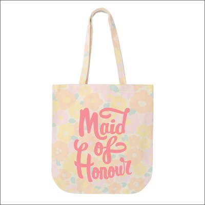 alphabet bag floral maid of honour bag  image 1
