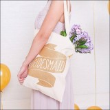 bridesmaid - gold  by Alphabet Wedding Bags