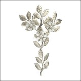 silver cherry embellishments by Harriet Wilde
